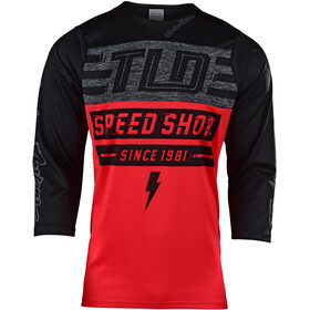 Troy Lee Designs Ruckus Bike Jersey Shortsleeve Men red/black